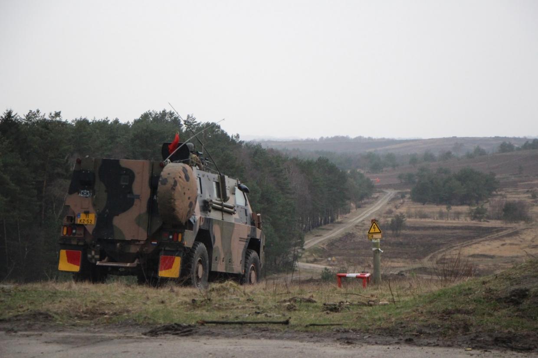 Bushmaster gereed voor verplaatsing