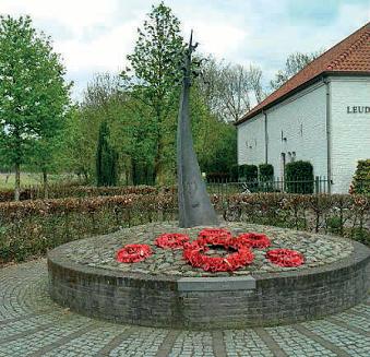 Het Monument van Verdraagzaamheid in de Gemeente Leudal in Midden-Limburg
