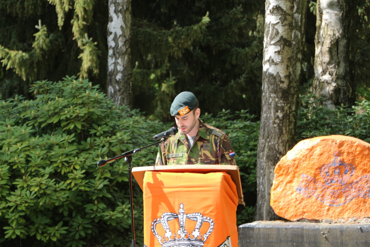 Speech Kapitein van Loon