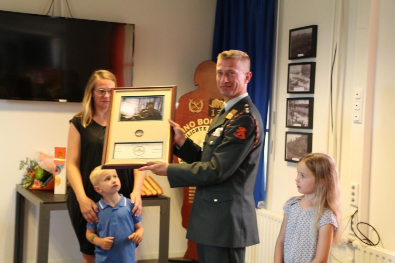 Commanders Coin voor Van der Haas