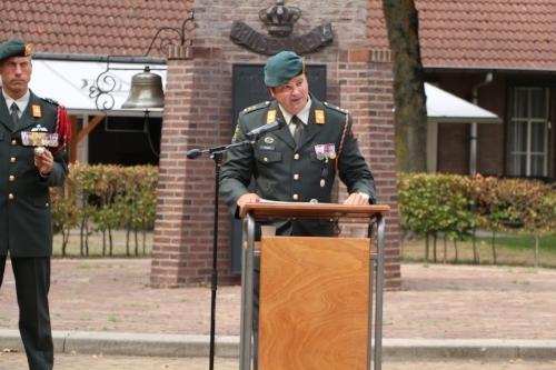 Speech van Kapitein Ferwerda