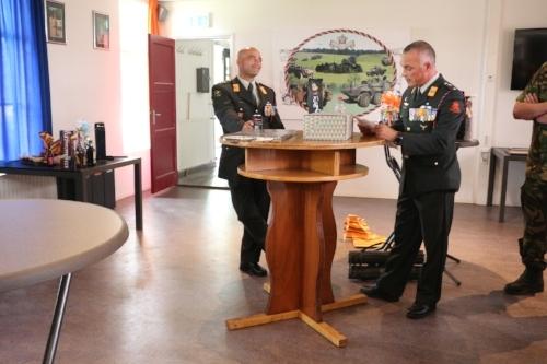 Speech van Adjudant Reijnders