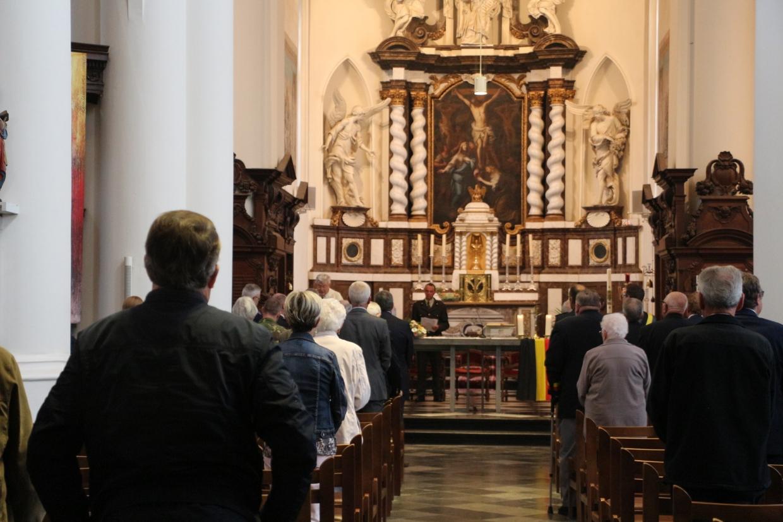 Kerkdienst herdenking Beringen