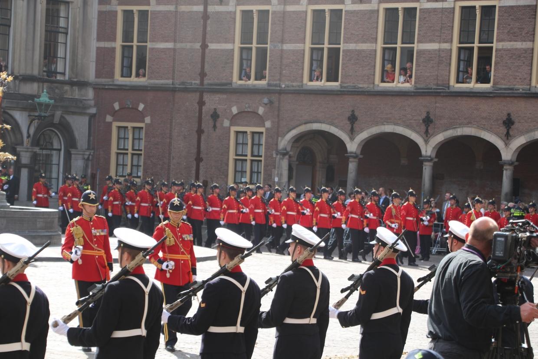 Delta Compagnie op het Binnenhof