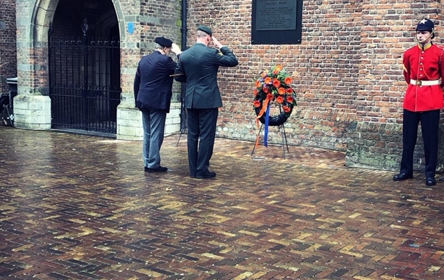 Kranslegging Den Haag