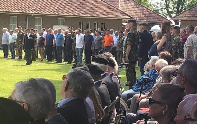 Veteranenreunie op de bataljonsappelplaats