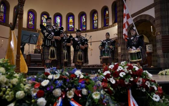 Provinciale herdenking Brabantse gesneuvelde militairen en verzetsstrijders