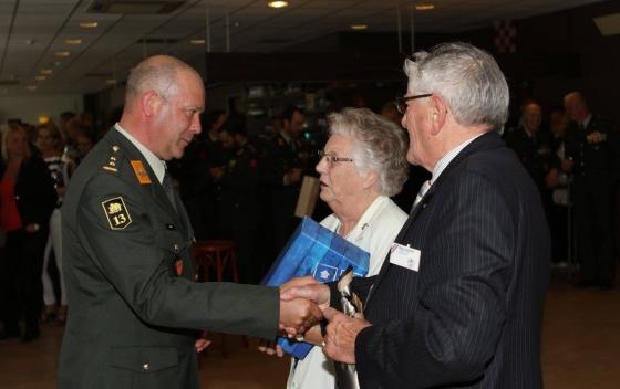 Afscheid VOSIB van regimentscommandant