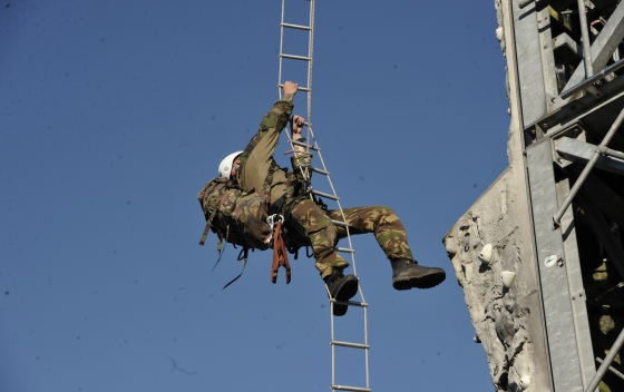 klimtoren, verkenners, peloton