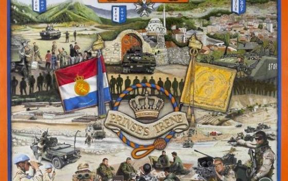 Regiment, schilderij