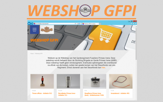 Screenshot Webshop GFPI